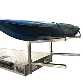 Dock Mounted Kayak Rack