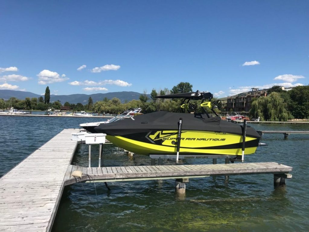 8K Hydraulic Boat Lift